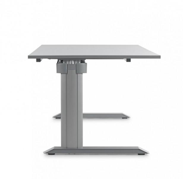 Höhenverstellbarer Schreibtisch Leuwico Go2 Basic | Pape+Rohde ...