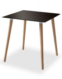 SMV BLANDA - Tisch mit Massivholz Gestell
