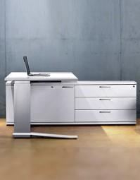 Leuwico iMove-C Design Steh-Sitz-Schreibtisch