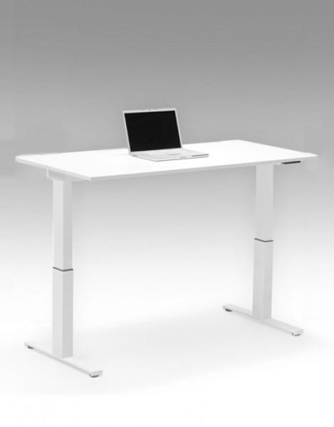 Höhenverstellbarer Schreibtisch Leuwico SPINE 2 Basic | Pape+Rohde ...