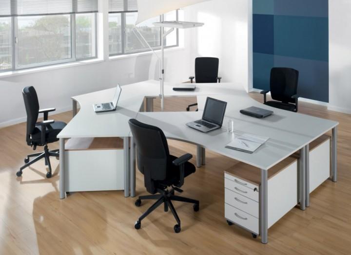 Schreibtisch System Assmann Rondana Pape Rohde Buroeinrichtungen