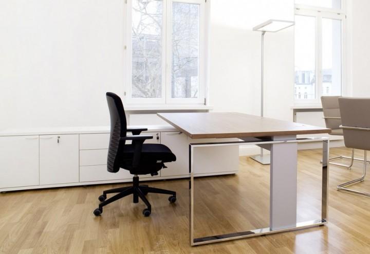 Hohenverstellbarer Schreibtisch Leuwico Imove F Pape Rohde