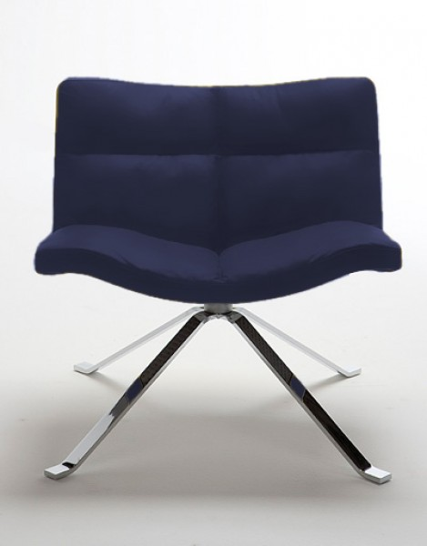 tonon wave 901 lounge sessel mit kreuzfu pape rohde. Black Bedroom Furniture Sets. Home Design Ideas