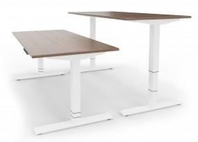ERGO PRO-Desk mit Zubehör / Unser meistverkaufter elektrisch höhenverstellbarer Schreibtisch