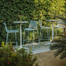 ENEA STREET – Outdoor Barhocker im modernen Design