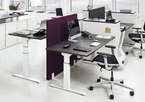 ACTIVE – Ergonomischer höhenverstellbarer Schreibtisch