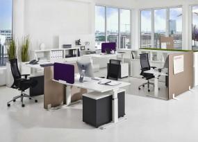 ACTIVE – Ergonomischer Schreibtisch, optional höhenverstellbar