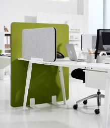 P + R Screen – moderner Tischaufsatz als Sichtschutz