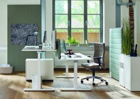 ACTIVE SMART – Ergonomischer höhenverstellbarer Schreibtisch