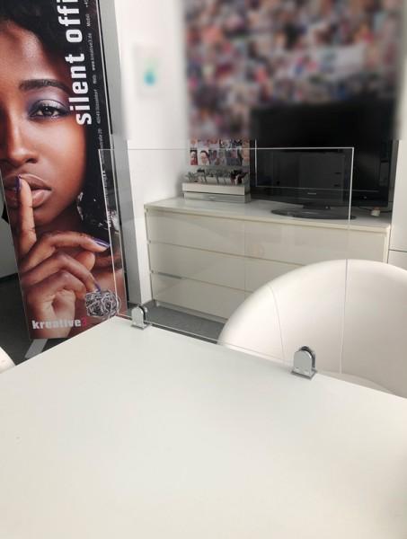Plexiglas Trennwand Schreibtisch 2021