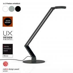 LUCTRA RADIAL TABLE BASE – LED Schreibtischlampe