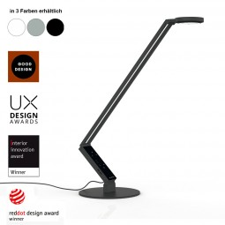 LUCTRA Radial Table Pro Base LED Schreibtischlampe