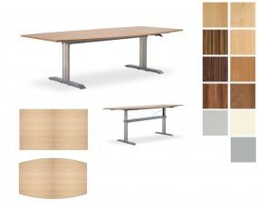 Leuwico Go2 Basic Steh-Sitz-Besprechungstisch
