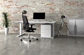 Leuwico SPINE 3 Comfort Steh-Sitz Schreibtisch