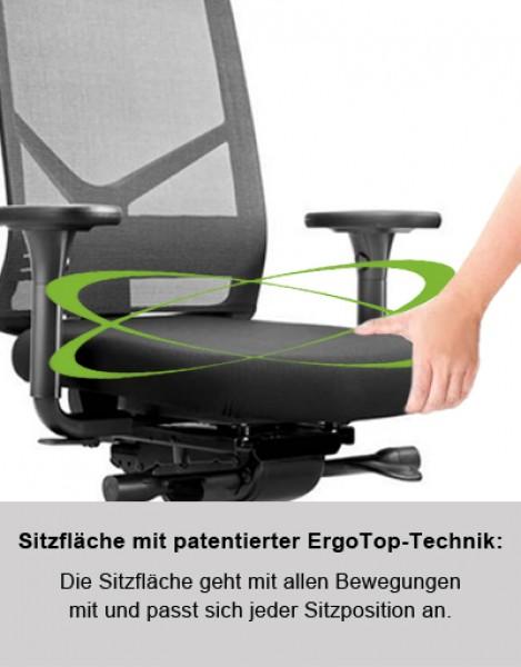 Ergonomischer Bürostuhl Löffler FIGO Air KN - 30 Jahre Garantie ...