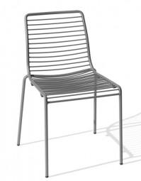 MSM VIA – Outdoor Stuhl im modernen Design / Geeignet für Außen- und Innenbereiche