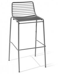 MSM VIA – Outdoor Barhocker im modernen Design / Geeignet für Außen- und Innenbereiche