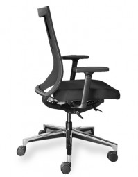 P + R One 25 – Bürostuhl mit Polsterauflage
