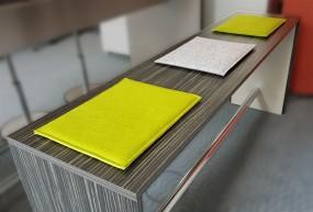 P+R Sitzpolster in Grün