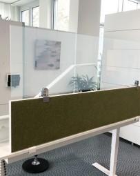 Plexiglas Aufsatz-Trennwand für Tische | Virenschutz | viele Größen