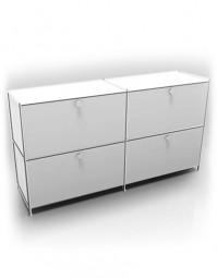 System 4 by Viasit – Sideboard mit 4 Schubladen
