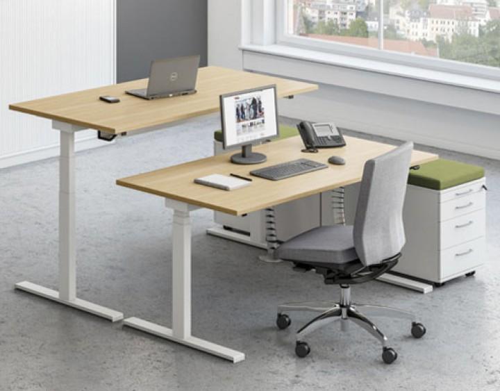Schreibtisch System Assmann Sympas Pape Rohde Buroeinrichtungen