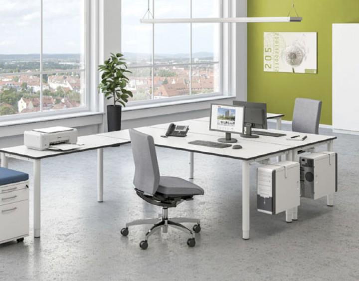 Schreibtisch System Assmann Sympas | Pape+Rohde - Büroeinrichtungen