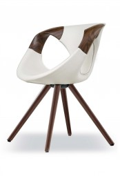 TONON UP CHAIR 917 Luxury WOOD - Gepolstert