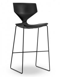 TONON QUO 910 – Design Barhocker mit Rückenlehne