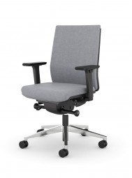 Viasit F1 Move – Bürostuhl gepolstert mit Rückenlehne 53 cm