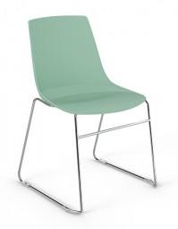 Viasit Solix - Design Stuhl mit Kufengestell