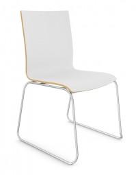 Viasit Tika - Design Stuhl mit Kufengestell