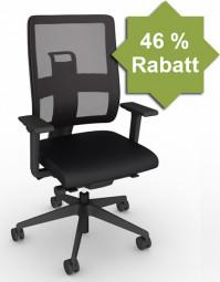 Viasit Toleo mit Netzrücken – Bürostuhl mit 46% RABATT
