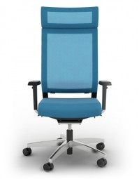 Viasit Impulse Comfort - Bürostuhl mit Kopfstütze