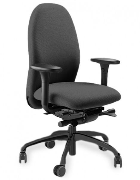 gesund sitzen mit dem ergonomischen b rostuhl l ffler. Black Bedroom Furniture Sets. Home Design Ideas