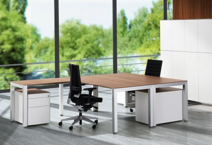 Klain Büromöbel Solus - P + R EXPERIENCE Design Schreibtisch | Pape+ ...