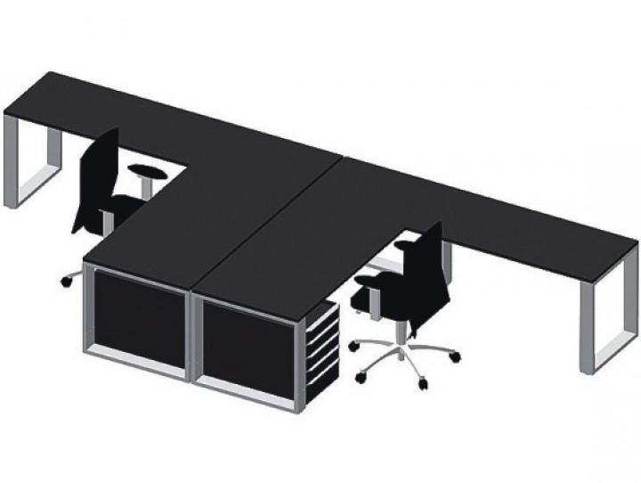 klain b rom bel quandos p r loft design schreibtisch pape rohde b roeinrichtungen. Black Bedroom Furniture Sets. Home Design Ideas