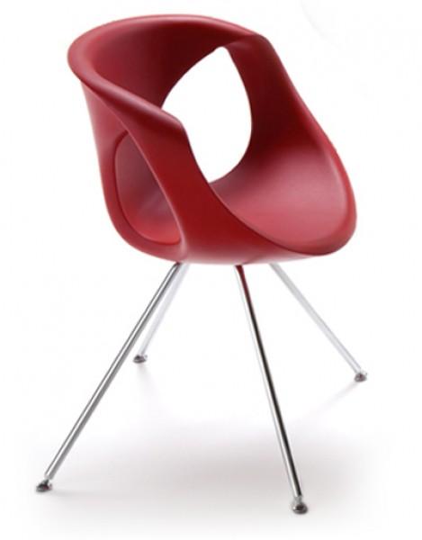 Design Esszimmerstühle tonon up chair 907 steel design stuhl mit stahl gestell pape
