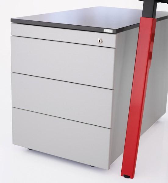 Febrü SOX Schreibtischcontainer: Rollcontainer und Standcontainer ...